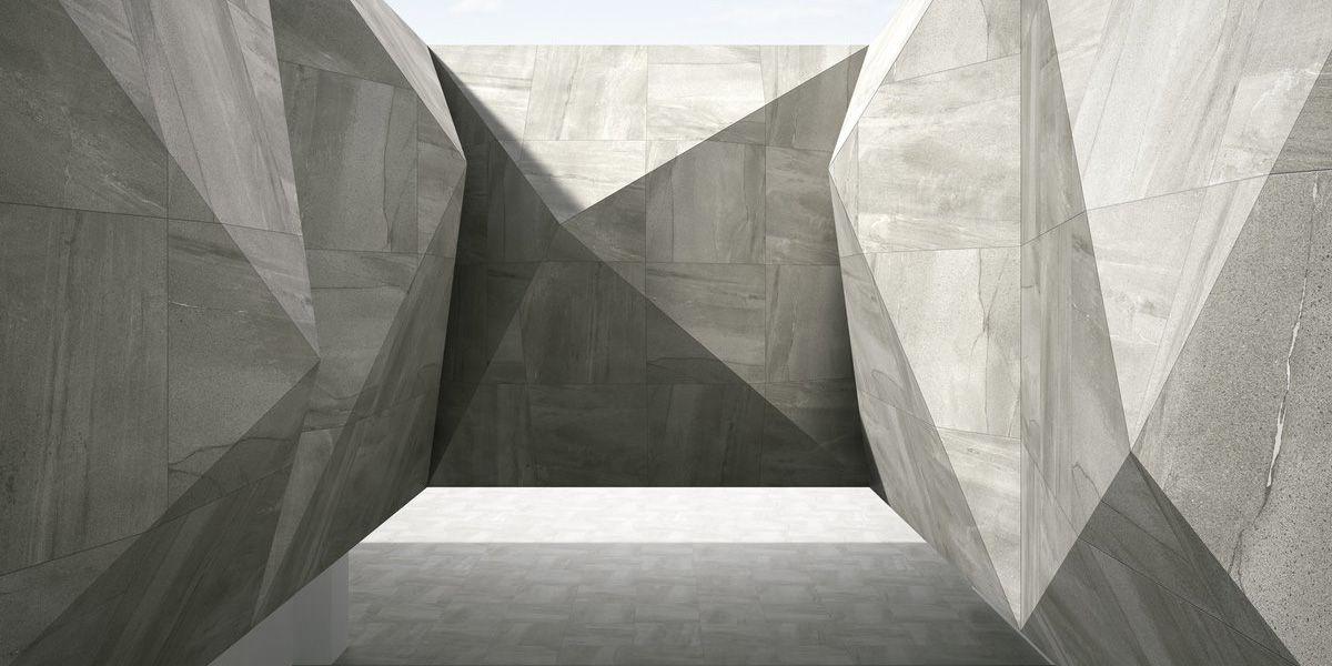 Megagrey Megalith Maximum Feinsteinzeug Steinlook Grau