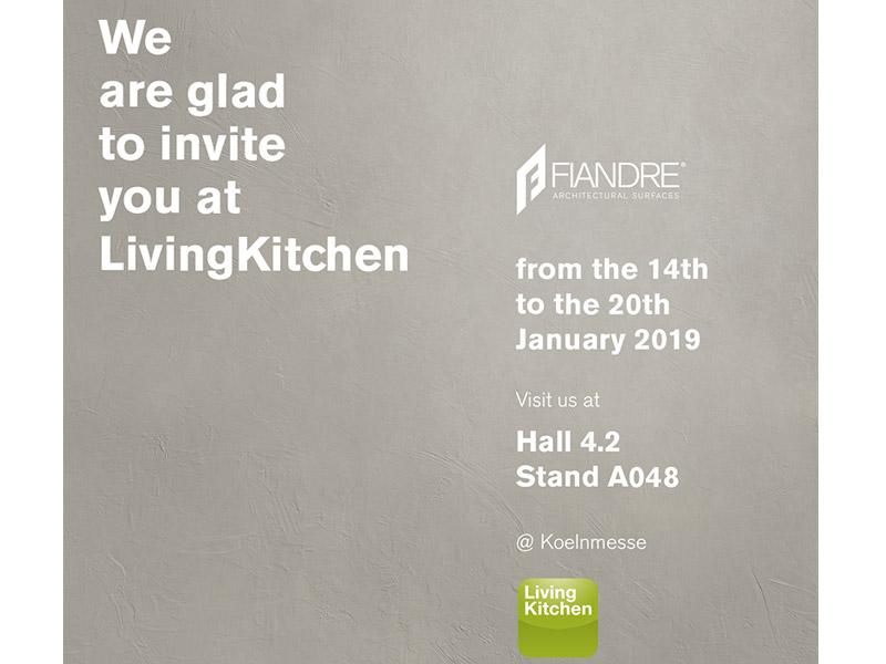 Fiandre Auf Der Living Kitchen 2019 The International Kitchen Show News Fiandre