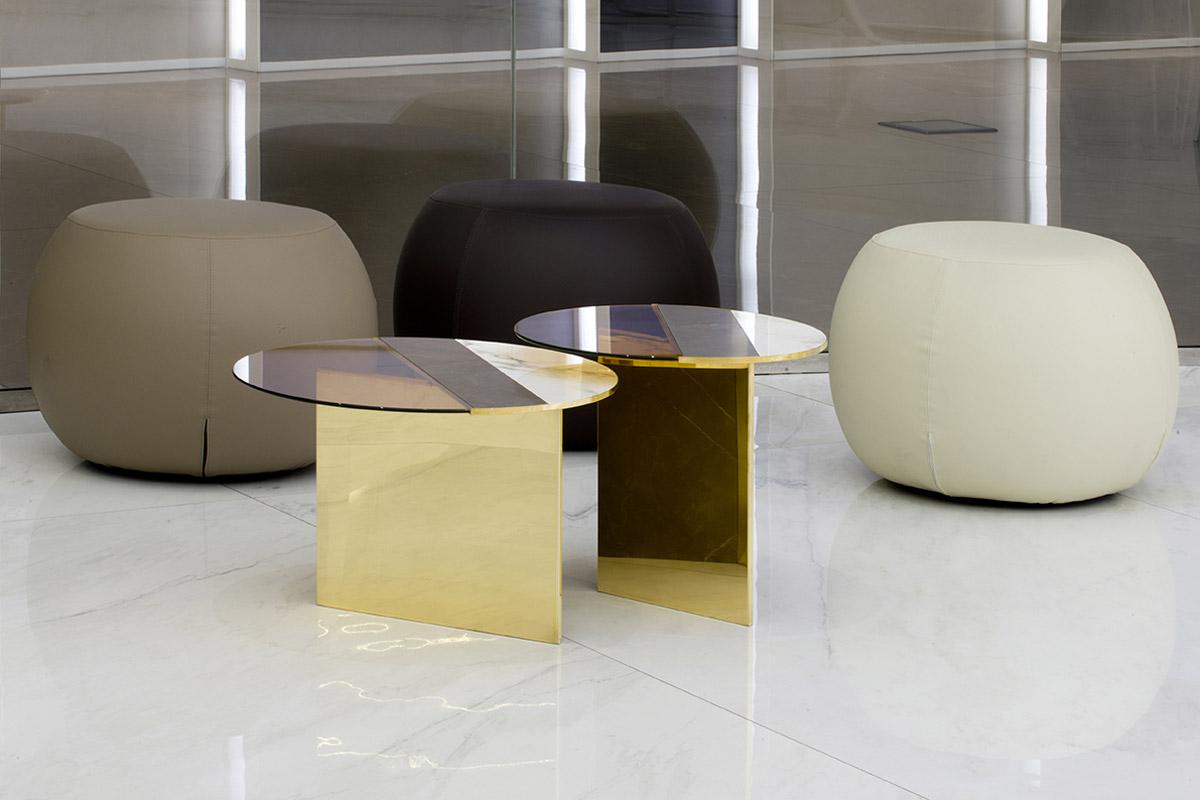 Seat and small tables fab architectural bureau castellarano