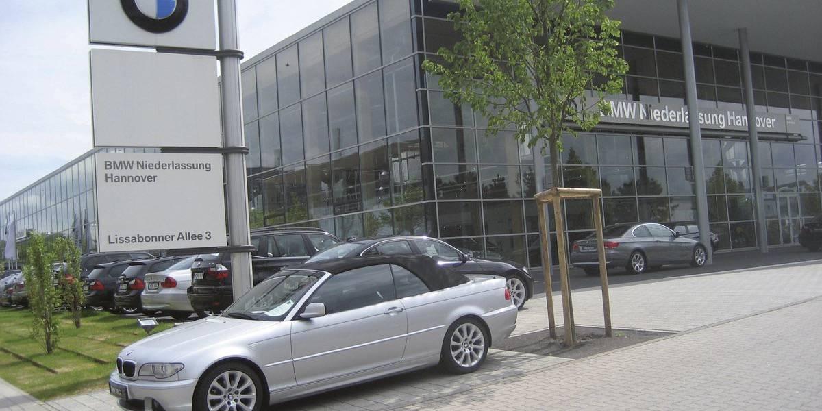 """autohaus bmw """"niederlassung"""", deutschland - fiandre"""